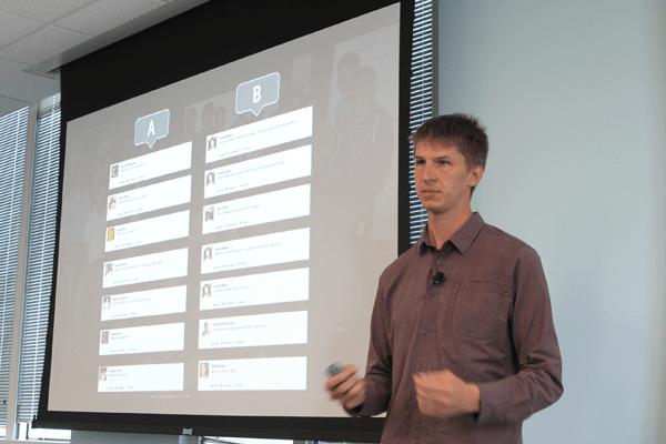 Facebook Engineering Director Lars Backstrom