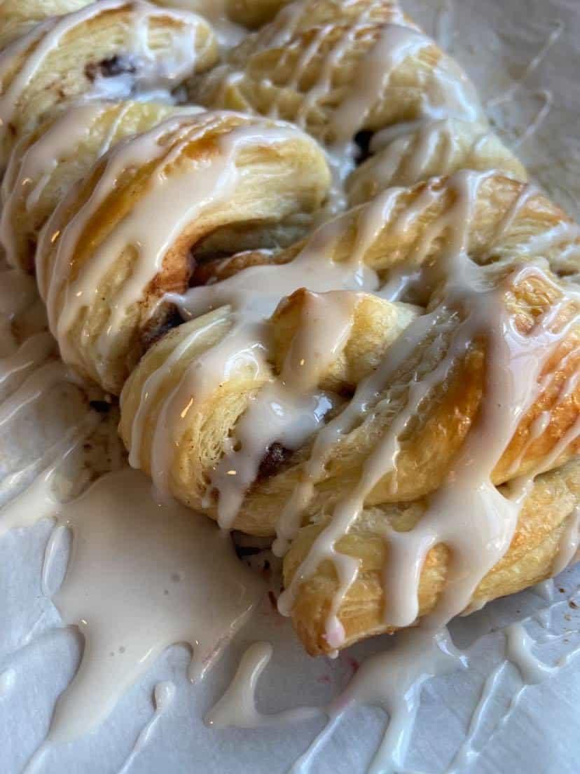 Cinnamon Danish Pastry Flypeachpie