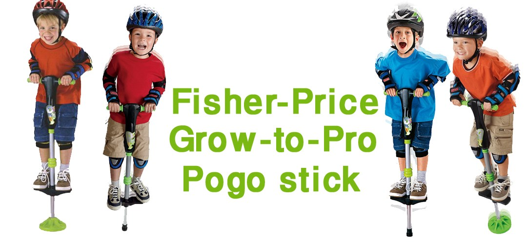 Fisher-Price Grow to Pro Pogo