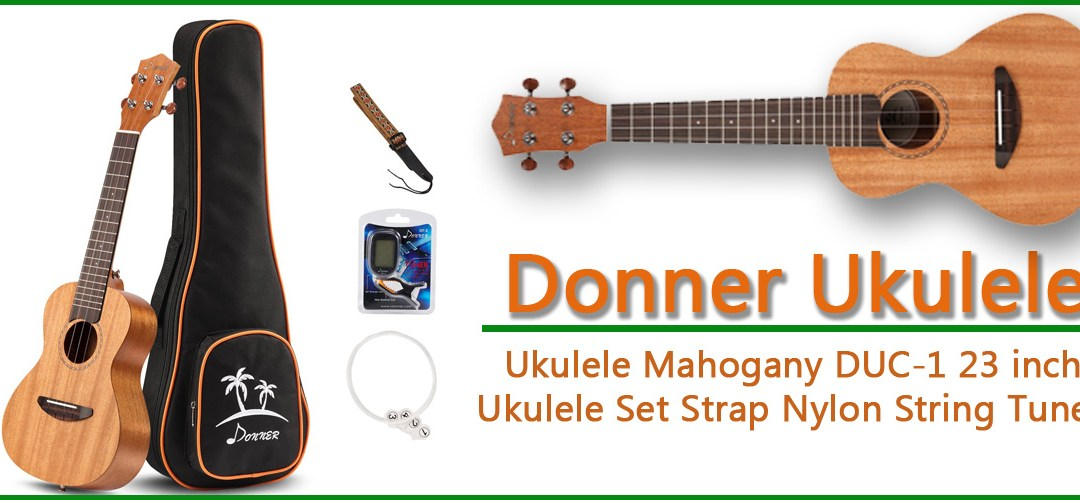 Donner Concert Ukulele Mahogany DUC-1