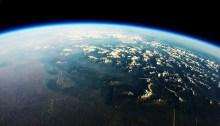 Friuli e Veneto dalla stratosfera