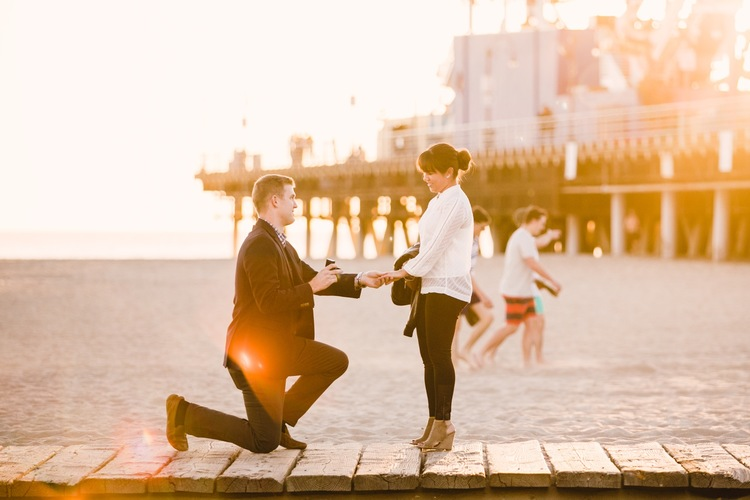 Santa Monica Pier Surprise Proposal   Santa Monica Proposal     Santa Monica Pier Surprise Proposal   Santa Monica Proposal Photographer