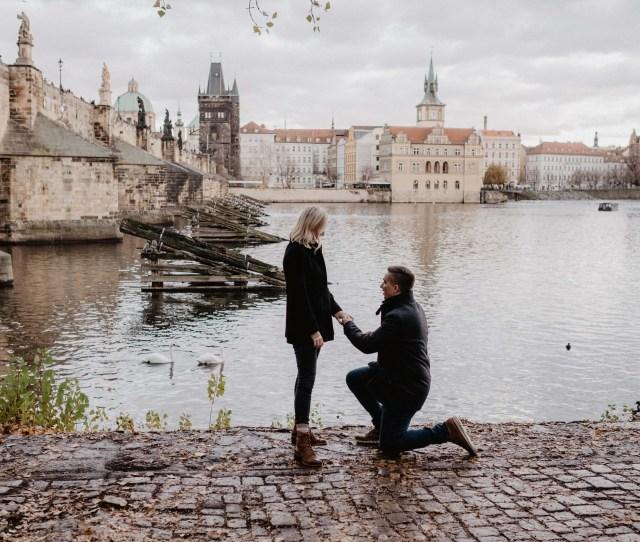 Tis The Season For A Magical Prague Proposal