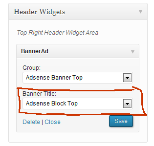 Flytonic Banner AdSense widget