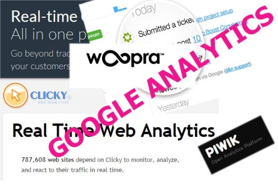 Three Alternatives to Google Analytics