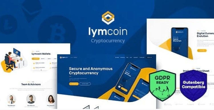 Lymcoin-Cryptocurrency-ICO-WordPress-Theme