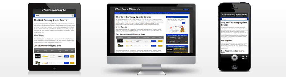 fantasy sports theme - gambling themes