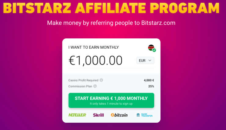 starzpartners Online Casino Affiliate Programs