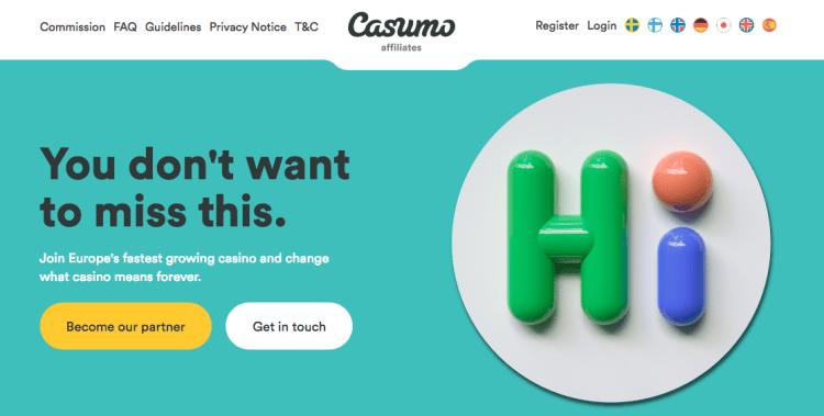 CASUMO AFFILIATES - Casino Affiliate Programs in Australia