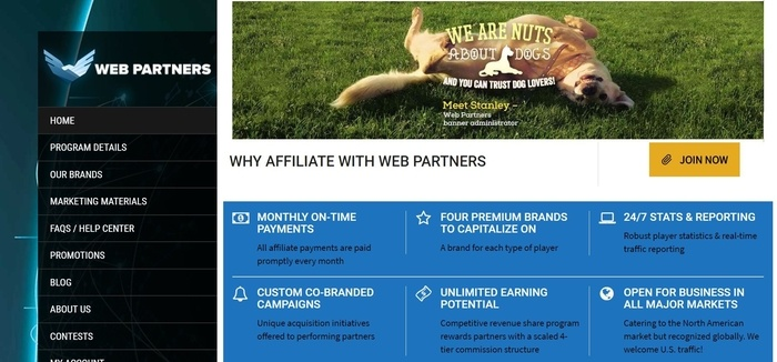 Web-Partners-Affiliate-Program