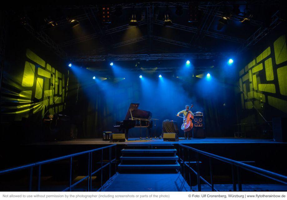 Garcia-Fons & Dorantes– Fotogalerie Konzert Hafensommer Würzburg 2019