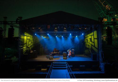 Garcia-Fons & Dorantes– Hafensommer Würzburg, 22.07.2019| © Foto: Ulf Cronenberg, Würzburg
