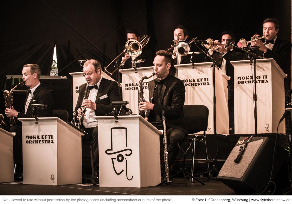 Moka Efti Orchestra – Hafensommer Würzburg, 31.07.2019  © Foto: Ulf Cronenberg, Würzburg