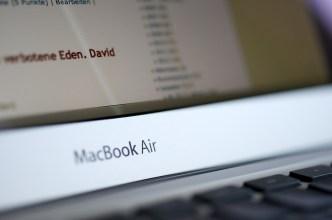 MacBook Air // © Ulf Cronenberg, Würzburg