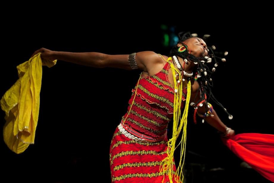 Fatoumata Diawara – Konzertfotos Würzburger Hafensommer 2012