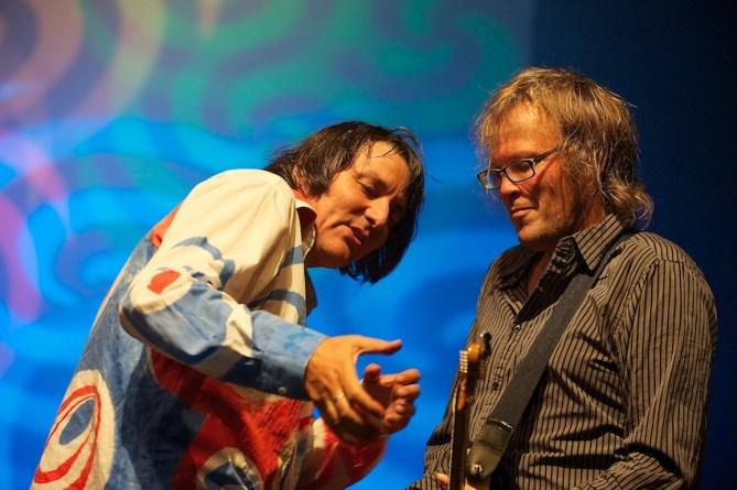 Peter Hein im Duett mit Uwe Jahnke    Foto: © Ulf Cronenberg, Würzburg
