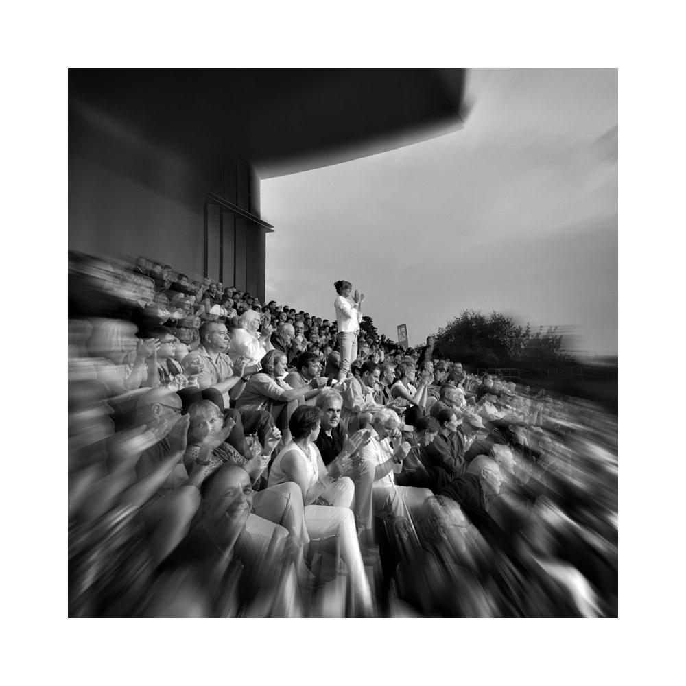 Publikum bei Klaus Doldinger, Hafensommer Würzburg 2016    © Ulf Cronenberg, Würzburg
