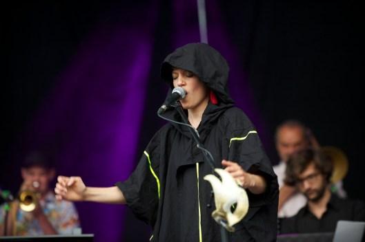 Monika Roscher Bigband, Würzburger Hafensommer 2013 // Foto: © Ulf Cronenberg