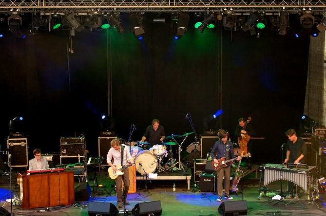 Niels Frevert & Band beim Würzburger Hafensommer 2012 // Foto: © Ulf Cronenberg, Würzburg