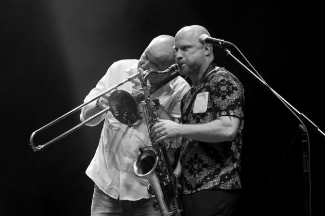 Nils Landgren Funk Unit - Hafensommer Würzburg 2017 || Foto: Ulf Cronenberg