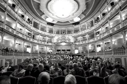 Das ehrwürdige Markgrafentheater in Erlangen // Foto: © Ulf Cronenberg