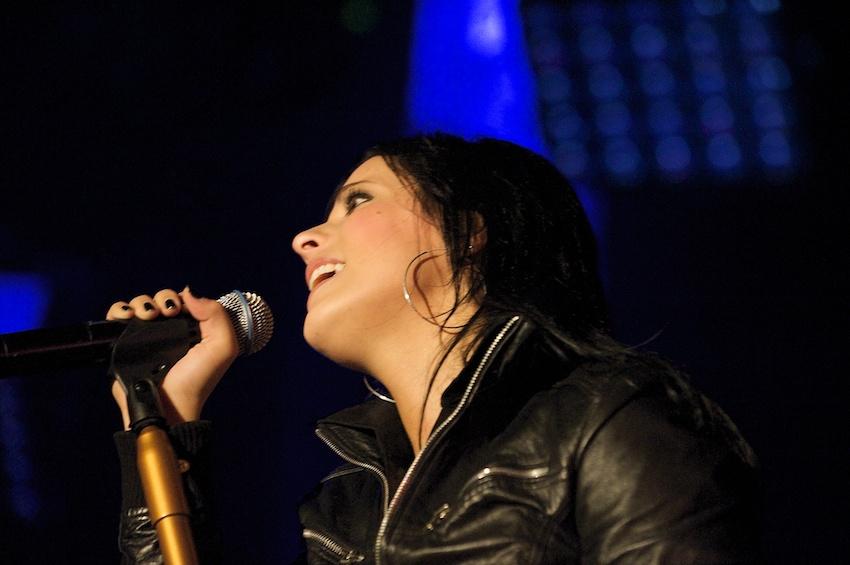 Silbermond: Sängerin Stefanie Kloß || Foto: © Ulf Cronenberg, Würzburg
