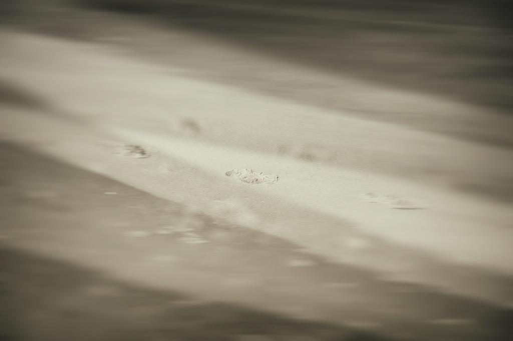 Strandspuren No. 1    Foto: © Ulf Cronenberg