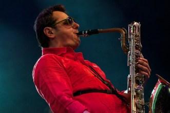 Saxophonist bei der Zugabe || Foto: © Ulf Cronenberg, Würzburg