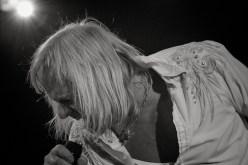 Bernie Shaw am Mikrofon || Foto: © Ulf Cronenberg, Würzburg