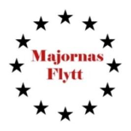 Majornas flytt loggotype