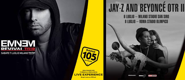 RADIO 105 live experience