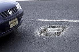 accidente por mal estado de calle o carretera en tenerife