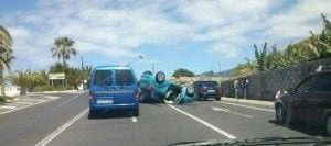 accidente de tráfico en tenerife