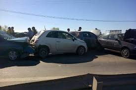 quien es el culpable de un accidente de tráfico en cadena en tenerife