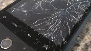 objetos rotos en accidente
