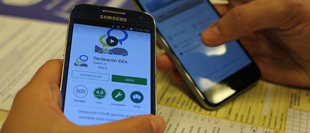Declarar un accidente de tráfico desde el móvil: El parte amistoso 2.0 al seguro