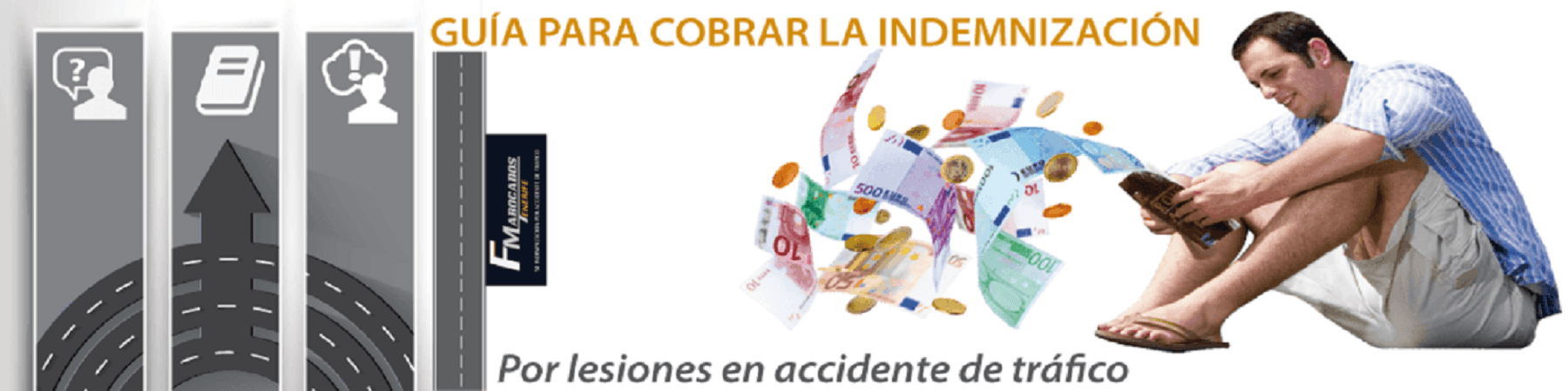 cobrar la indemnización por accidente de tráfico