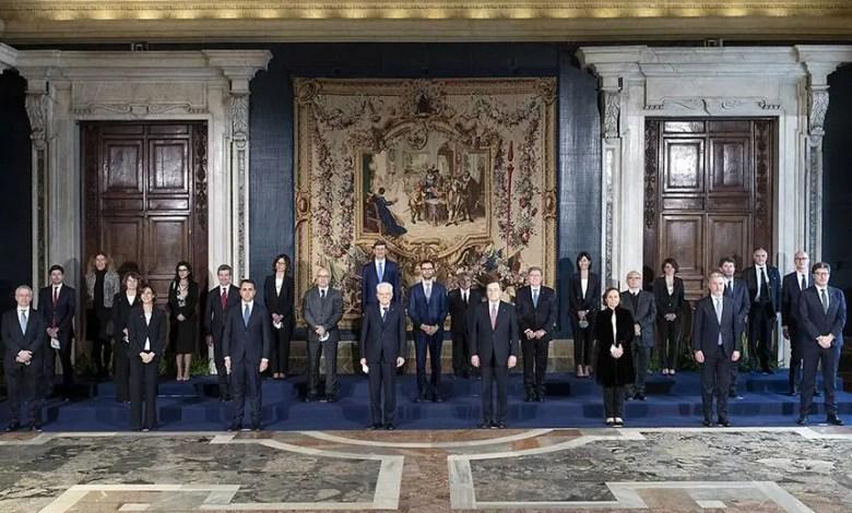 giuramento governo Draghi