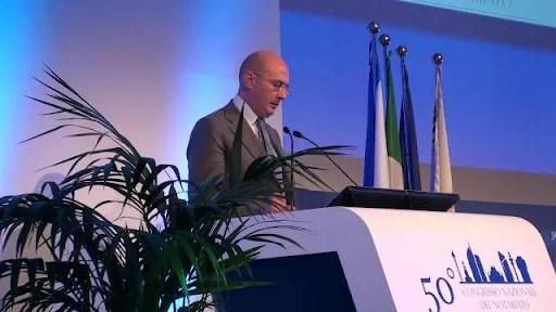 Il notaio Roberto Dante Cogliandro, presidente dei MACS