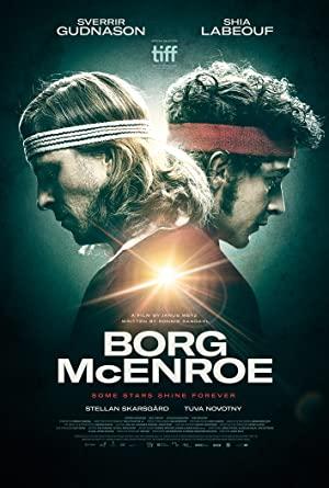 Borg McEnroe poster