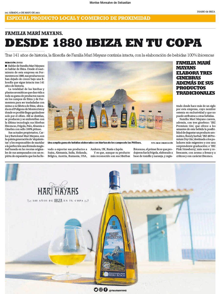14/05/2021 - Diario de Ibiza - Especial Producto Local