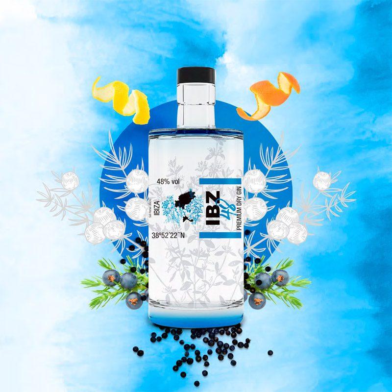 IBZ 48 - Premium Dry Gin - Familia Marí Mayans