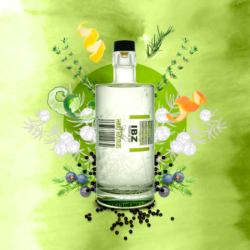 IBZ Premium Gin - Familia Marí Mayans