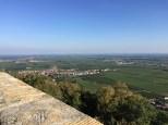 Zum Wohl - Die Pfalz! Ausblick vom Hambacher Schloss