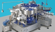 Intercaps Filling Systems' key labelling machine