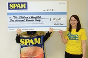 SPAM™ FANS' CREATIVITY BOOSTS CHILDREN'S HOSPITAL FUNDS