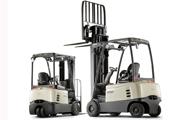Highly versatile counterbalance lift trucks