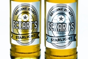 Metallic brilliance for packaging