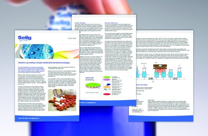 Selig Publishes Tamper Evident Packaging White Paper
