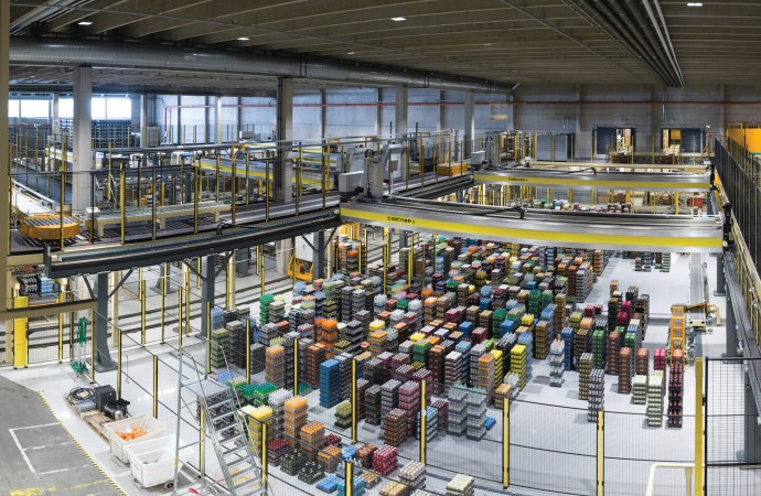 Cimcorp provides new order picking system and keg gripper for Olvi Brewery